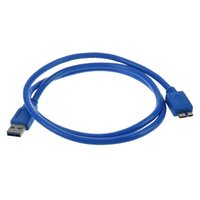 Dog Collars & Leashes SuperSpeed USB 3.0 Cable, Type A To B Micro, M   M, 3 FT, Blue