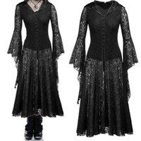 Elbiseler Shengyuan Sonbahar Rahat Kış Ortaçağ Gotik Elbise