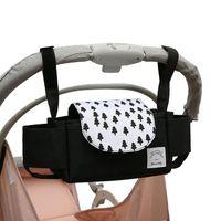 Windel-Taschen Pram Baby-Accessoires Cup-Halter-Deckel-Winter-Windwanne Buggy-Warenkorb