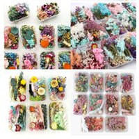 Box Real Dried Flower Dry Plants For Candle Epoxy Resin Pendant Necklace Jewelry Making Craft DIY Accessories Decorative Flowers & Wreaths