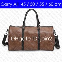CARRY ON ALL BANDOULIERE 60 55 50 45 cm Designer Womens Mens Travel Duffle Duffel Bag Luxury Rolling Softsided Luggage Set Suitcase M41414