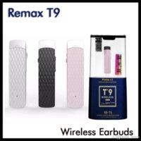Original Remax RB-T9 Wireless Bluetooth Headphones Volume Control In Ear Hook Earbuds Headset Earphones for iPhone Samsung Cellphones