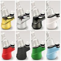 8 colors SOC Enail Starter Kit TC Vape Mod With Wax Atomizer Concentrate Shatter Budder Dabber Rig FY2421
