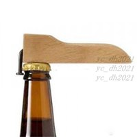 Beer Bottle Opener with Wooden Handle Nail Beverages Corkscrew Kitchen Bar Supplies