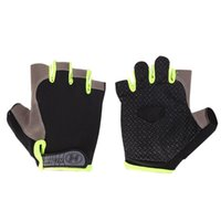 Велосипедные перчатки Спортивные нескользящие половинные пальцы дышащие сетки спортивное снаряжение