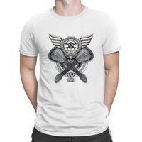 Rh Twin Guitar T Foots 100% хлопок новинка печать летняя мужская футболка мужчина высочайшее качество базовый анклах юмористический