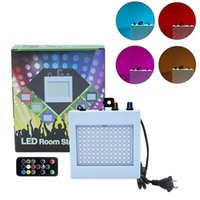 108 LED Effects Flashing Stage Lights Remote Sound Activated Disco Light for Festival Parties Lamp Wedding KTV Strobe Lighting