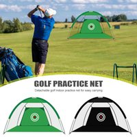 Golf Training Aids Equipment Oxford Cloth Chipping Practice Net Indoor Outdoor Pitching Target Cage UP