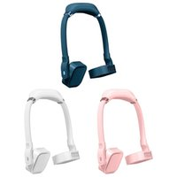 Electric Fans Hands-free Neck Band Fan Summer Adjustable Hanging Mini Portable Bladeless USB Small Sports Lazy