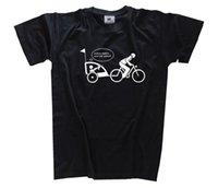 Comer retción y gas dan bicicleta rikscha divertido camiseta s-xxxl nuevo