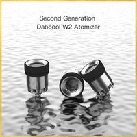 DABCOOL W2 Enail Atomizer Smoking accessories Second Generaton Atomizers Water Bongs CARTRIDGE With Cover Carp