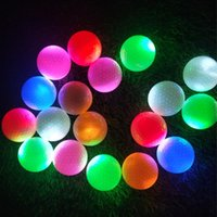 Golf Balls Light Up Bright Night MultiColorful Training Practice Glow Reusable Ball Gifts