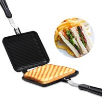 Baking Moulds Kitchen Non-Stick Sandwich Maker Bread Toast Fast Heating Toaster Waffle Pancake Mold Grill Frying Pan Breakfast Machine