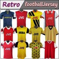 02 05 HENRY BERGKAMP V. PERSIE Mens RETRO Soccer Jerseys 94 97 VIEIRA MERSON ADAMS Home Away 3rd Football Shirt Short Long Sleeve Uniforms