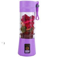 380 ml Kişisel Blender Taşınabilir Mini Blender USB Sıkacağı Kupası Elektrik Sıkacağı Şişe Meyve Sebze Araçları NHD7485