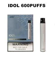 Одноразовые электронные сигареты IDOL 600Уфуфты Vape Pen с 500 мАч литиевая батарея 3.0ML Предварительно заполненное масло 22 цвета Доступны VS Shion Pod