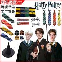Harry Potter's Magic Robe Cape Lenço Tie Wand Performance Traje Cosplay Animation Costume