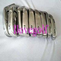 Komplette Set von Clubs 9pcs MP-1100 Golf Irons MP1100 4-9PAS Normale / steife Stahl- / Graphitwellen inklusive Kopfkoos DHL