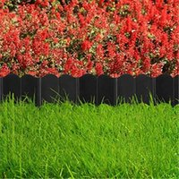 Eskrim, TRELLIS Gates Peyzaj Kenar Çit 20 ADET Bitki Desteği Dekoratif Bahçe Çiçek Rafı Kullanımlık Plastik Kafes Tutucu Yok Kazı