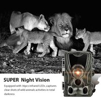Hunting Camera Wild Trail Cameras HC801A 16MP 1080P IP65 Photo Trap Wildlife Surveillance Cams Scout Tracking