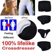 The New Men's nascondisca Panty Crossdresser Maschio Biancheria intima Underpants Transvestite Abbigliamento Shaper Ropa Interior Hombre