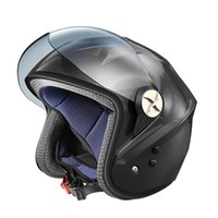 Motorcycle Helmet Solar Smart Bluetooth Locomotive Half Helmets Fan Electric Vehicle Set Off Road Motocross Motorcycles Atv Cross Racing Bike
