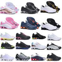 Shox TL R4 Enigma Erkek Kadın Ayakkabı Üçlü Beyaz Gümüş Gündoğumu Hız Kırmızı Viotech Mens Womens Eğitmenler Spor Sneakers 40-45