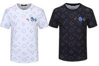 Hommes T-shirts Summer manches courtes Mode imprimé Tops décontractés Hommes de plein air Tees Couture Vêtements 21SS Tshirt M-3XL W37