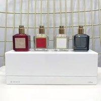 フレッシュナーフランシスパルファムバッカラートルージュ540香水オードサテンムードラローズフレグランスEDPドロップシップ70mlと30ml * 4ピース香水セット高速送料セット