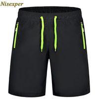 Niesexper 2021 Быстрая сушка Мужские повседневные шорты мужчины сплошной любовник пляж короткие мужские одежды большой размер 6xL 7xL 8xL 9XL