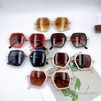 Fashion Children sunglasses 2021 summer kids beach holiday frame sunglass girls UV 400 protective eyewear outdoor accessories Q1193