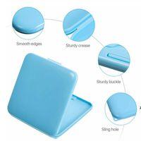 4 цвета портативная маска для хранения коробки для хранения лица маска для лица влага, пылезащищенный контейнер одноразовый рот для лица