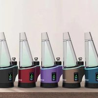Portable Delta 8 dabs E-cigarette Kits Dab rig Electronic nail wax dry herb Vaporizer pen With LED light and digital display vape Device Water Pipe