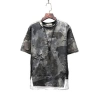 Mens T shirts Designer Skeleton Print Short Sleeve Tshirt Me...