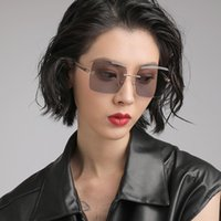 70% Off Factory Online Sale New Fashion Sunglasses Women's fashion rimless cut edge Polarized sunglasses