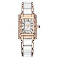 Última vida Retro Square Women 's Impermeable Moda Moda Melamina Simple Pulsera Reloj Reloj de pulsera