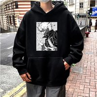 Felpe con cappuccio da donna Felpe JanPanese Anime My Hero Academia Dabi Manga Donne Autunno Casual TrackSuits Tuits Streetwear Cartoon Pullover maschile