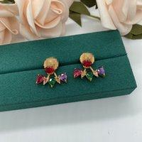 Met Box Modemerk Have Stamps Pearl Designer Oorbellen Voor Lady Dames Party Bruiloft Liefhebbers Gift Engagement Luxe Sieraden voor Bruid R250