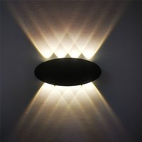 Outdoor wall lamps Simple modern 4w6w8w light for porch, Lights patio, garden, Bedroom background lighting 110 220v KHY-1032