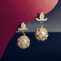 Highest counter quality diamants legers anti allergy studs 925 silver needle women earrings designer saler fashion retro brass gold plated Luxury earring advanced