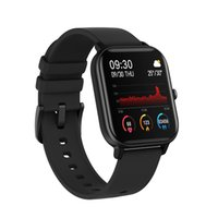 2021 Newest Luxury quality Smart Watch P8 Women men Color Screen Full Touch Fitness Tracker Blood Pressure Passomete Push Message Smartwatches for android ios