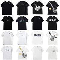 20SS Mens Donners Designer T Shirt Moda Moda S Uomo Casual T-shirt Lettere Stampa Abbigliamento Street Designer D Pantaloncini Manica 2021 Abbigliamento Tshirts 0101