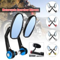 Universal 7 8 Inches Bar End Rear Mirrors Moto Motorcycle Motorbike Scooters Rearview Mirror Side View Cafe Racer