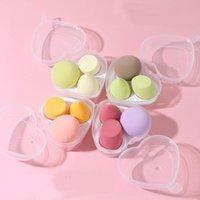 Sponges, Applicators & Cotton 3PCS Makeup Blender Cosmetic Puff Sponge Beauty Egg Make Up Tools Foundation Powder Peach Shape Cushion