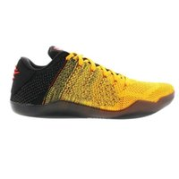 أسود مامبا 11 النخبة منخفضة بروس لي كرة السلة أحذية للبيع أعلى جودة الأحذية متجر مع مربع size7-12