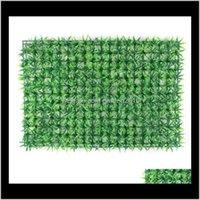 Decorations Patio, Garden Home & Garden40*60Cm Simulation Plastic Lawn Artificial Grass Mat Indoor Background Plant Wall Decoratio Drop Deli