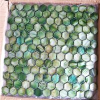 Wallpapers Natural Freshwater Shell Mother Of Pearl Mosaic Tile For Bathroom Decoration Wall Hexagon Pattern 11 Square Feet/lot
