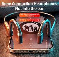G1-1 Bone Conducting Headphone 5.0 Wireless Bluetooth Stereo Headphones Waterproof Sports Outdoor Hearest with Microphone