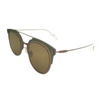 Venda 2021 Compostos Brand Round Mulheres Óculos Homens Rimless Solda Vermelho Moda Óculos de Sol Mulheres 2020 Vintage Retro Zonnebril Dames Sunglases