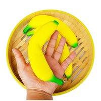 18 cm Banana Squishy Imitazione Fidget Toy Phone Squadri Squishies Spremere fragranza regalo profumato Jumbo vivace decorazione